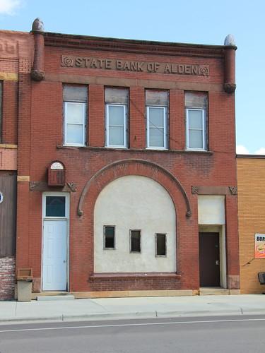 State Bank of Alden Building - Alden, MN