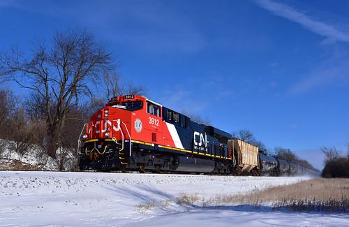 CN 3912 on UP - 1/19/2020