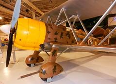 Fiat CR.42 Falco, RAF Museum, Hendon.