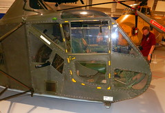 Sikorski R-4B Hoverfly, RAF Museum, Hendon.