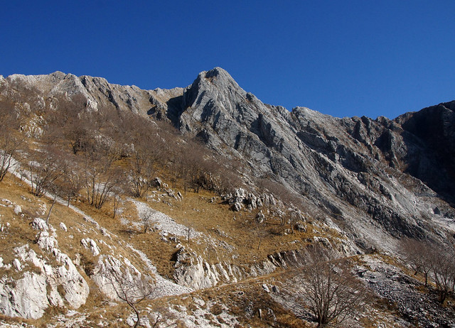 Scorcio del Monte Altissimo - Alpia Apuane