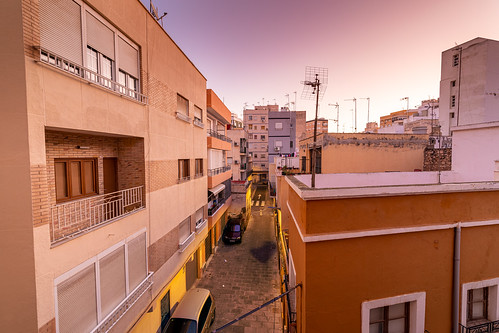 Almeria Street at Dawn (HDR)