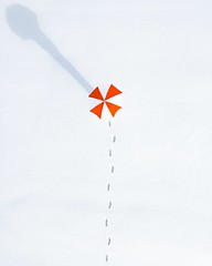 Top view photo of person holding umbrella - Credit to https://homegets.com/