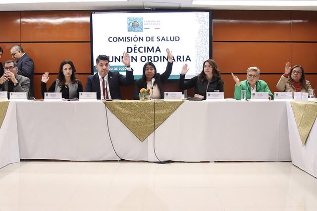 22/01/2020 Décima Reunión Ordinaria Comisión De Salud