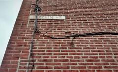 MIFFLIN ST. sign, 523 Thompson at North Randolph NW, Philadelphia
