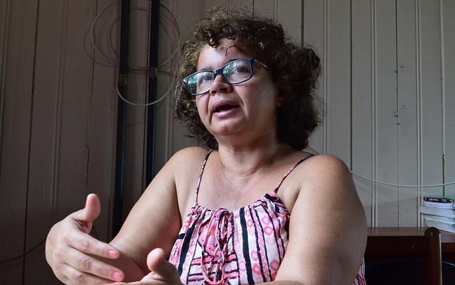 Segundo Angela, a Aliança dos Povos das Florestas foi criada para fortalecer a resistência contra ataques aos povos tradicionais - Créditos: Cris Uchôa