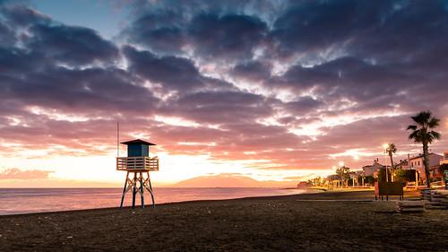 Sunset at Rincon de la Victoria