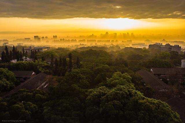 Photo:東海大學晨曦 Sun rise. By ~ Hank Lee Photography~