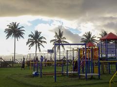 Playground Under Overcast Sky