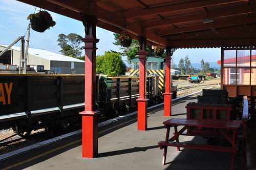 Waihi Station Platform