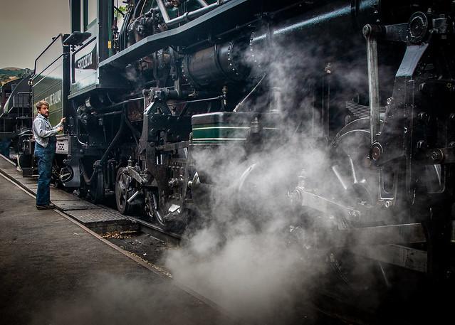 Skookum Steam Up