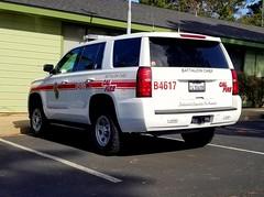 Cal Fire Chevrolet Tahoe B4617