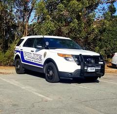 Presidio of Monterey Police Ford Explorer