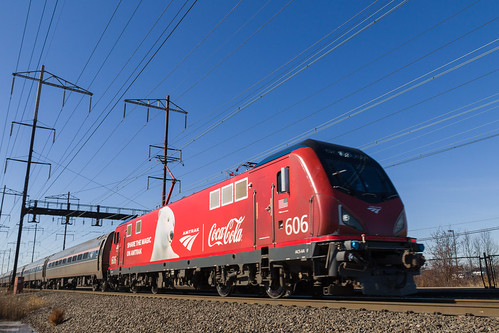 "Amtrak ""Coca-Cola"" Locomotive"
