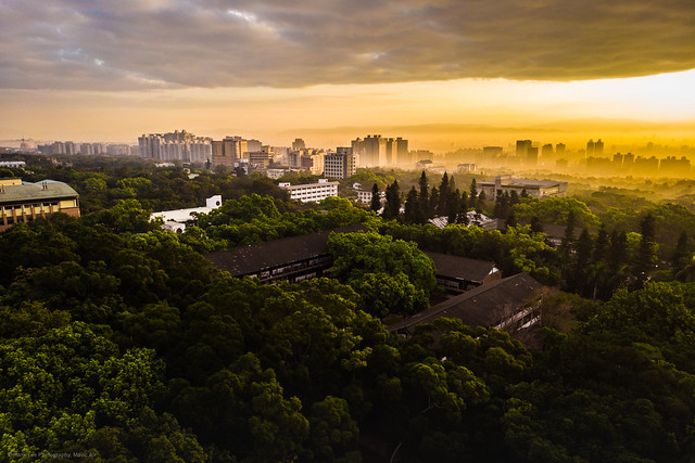 Photo:Amazing light on the city during the dawn. By ~ Hank Lee Photography~