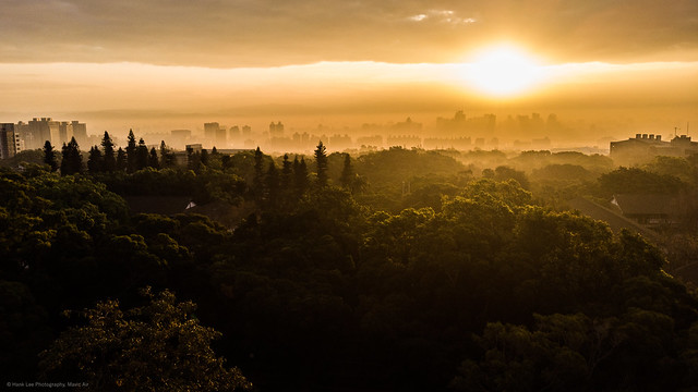 Photo:大肚山日出 Dawn photo in Taichung, Taiwan. By ~ Hank Lee Photography~