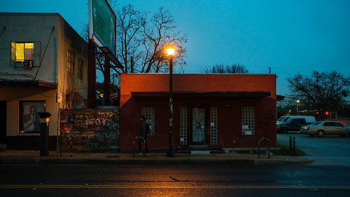 Wet Evening on East Sixth Street