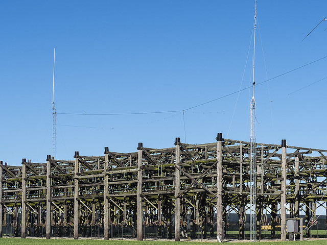 Photo:VOA Tour: The antenna switch array was HUGE! By lundyd