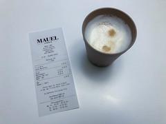 Bonpflicht ab 2020 in Deutschland: ein Latte Macchiato mit dem entsprechenden Beleg