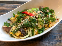 Vietnamese specialty with veggies and noodles at Chum Chay in Cologne