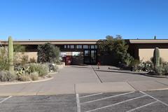 Entering Rincon Mountain Visitor Center
