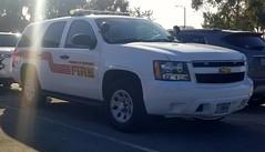 Presidio of Monterey Fire Chevrolet Tahoe