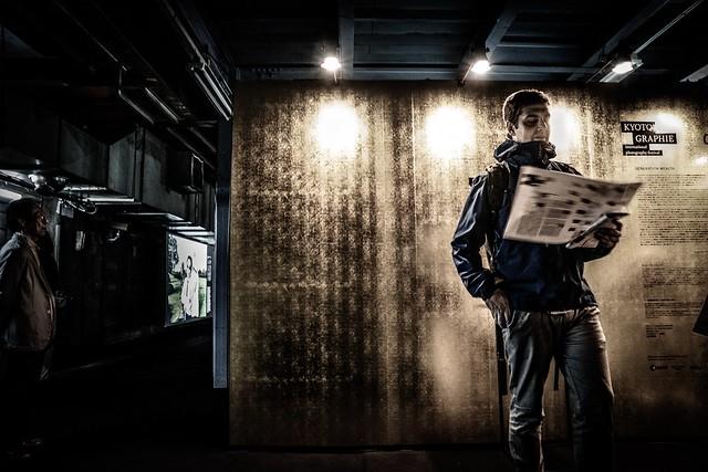 Underground exhibition