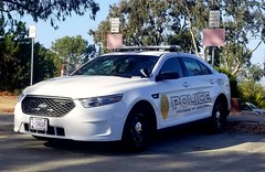 Ford Interceptor Sedan with Presidio of Monterey Police