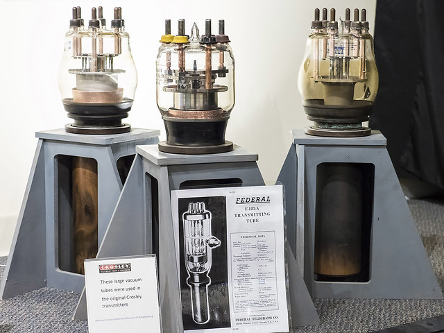Photo:VOA Tour: Very high power vacuum tubes By lundyd