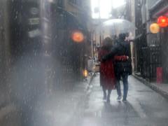 Rainy Kyoto