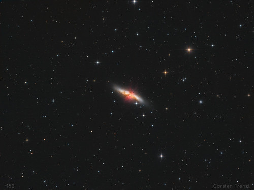 The Cigar Galaxy - M82