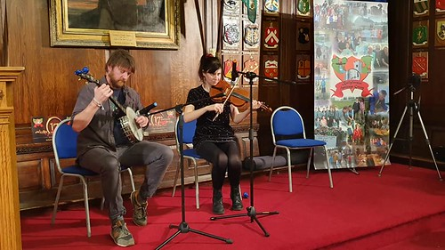 Derek Copley and Aisling Conway Keo. Thanks to Michael Coakley for the photo