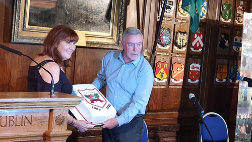 Thanks to Joan Wilson for the Cake Thanks to Michael Coakley for the photo