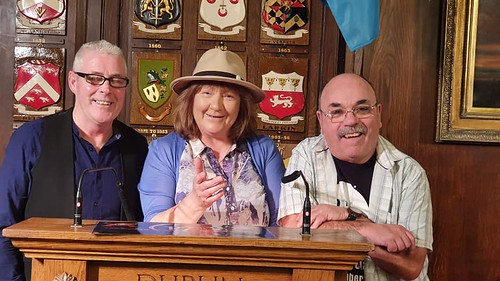 Tono Brennan, Susanne Plummer, and Martin Healy,Thanks to Michael Coakley for the photo