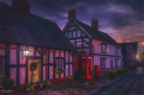 The Telephone & Post Box