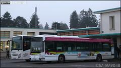 Renault Agora S – Mâconnais Beaujolais Mobilités (Transdev) / Tréma n°302 & Iveco Bus Crossway – Mobilités Bourgogne-Franche-Comté / Mobigo