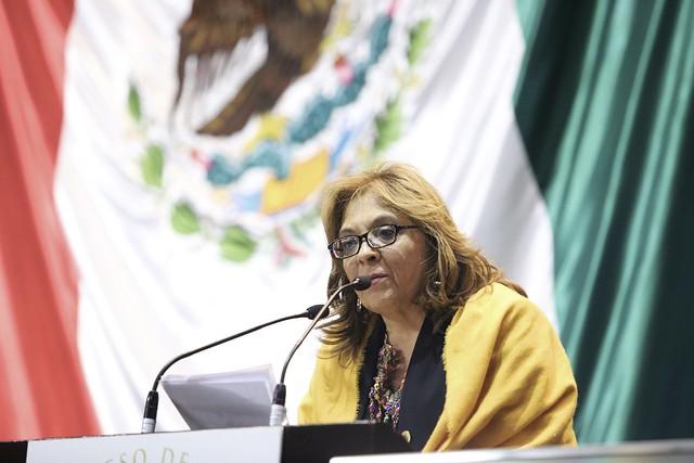 22/01/2020 Tribuna Dip. María de los Ángeles Huerta del Río
