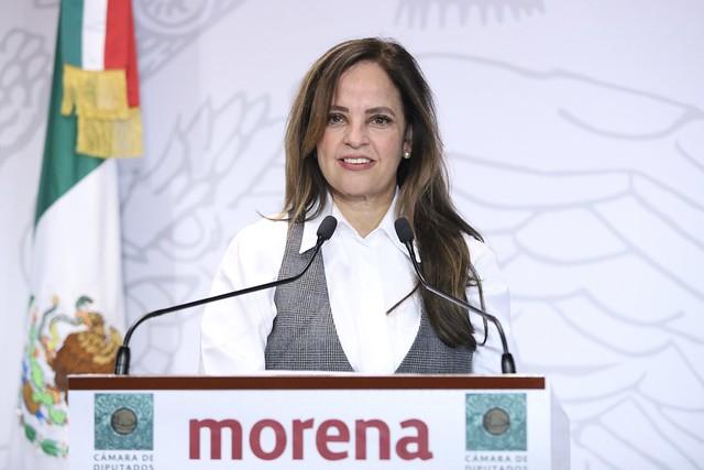 23/01/2020 Conferencia de Prensa Dip. Lorena Villavicencio Ayala