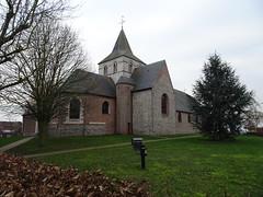 l'église Sint-Niklaas de Menin (Rekkem).- - Photo of Roncq