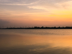 Canvas of colors, Sungei Buloh Wetland Reserve sunset, Singapore