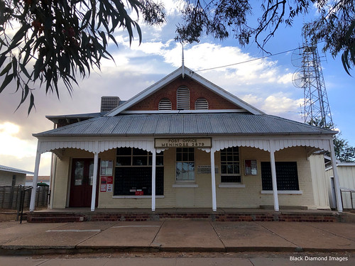 Menindee's Post and Telegraph Office, Menindee, Western NSW