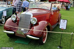 1937 Mercedes-Benz 170V Cabrio B W136