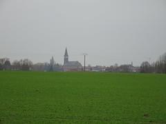 Dronkaard,  panorama sur l'église St Alphonse d'Halluin - Photo of Roncq