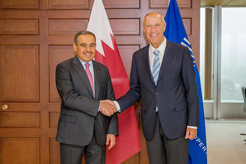 WIPO Director General Meets Qatar's Minister of Commerce and Industry