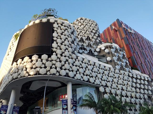 Singapore: Another modern building near Bugi Village