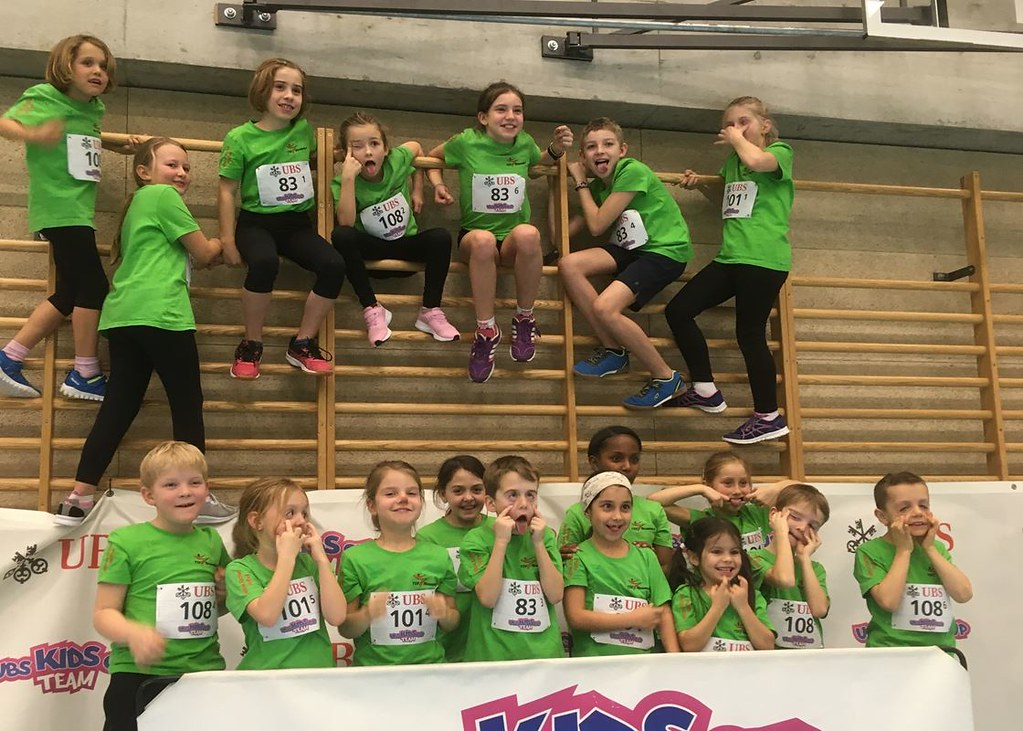 2020 UBS Kids Cup Team