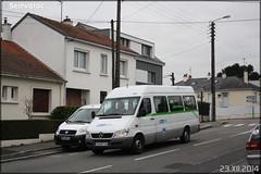 Mercedes-Benz Sprinter – Semitan (Société d'Économie MIxte des Transports en commun de l'Agglomération Nantaise) / TAN (Transports en commun de l'Agglomération Nantaise) / Proxitan n°962