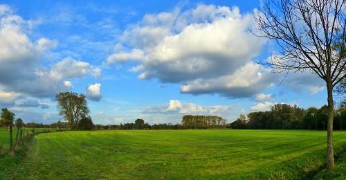 Zingem Weistraat Panorama - Prettig weekend - Have a nice Weekend!
