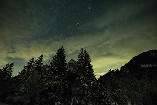 Sternenhimmel über dem Karwendel