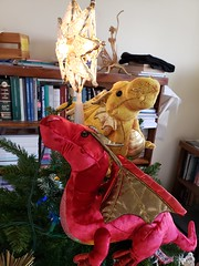 Dragons on the tree